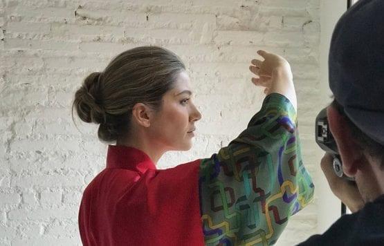 Vida y milagros Diseño textil Making off VidayMilagros