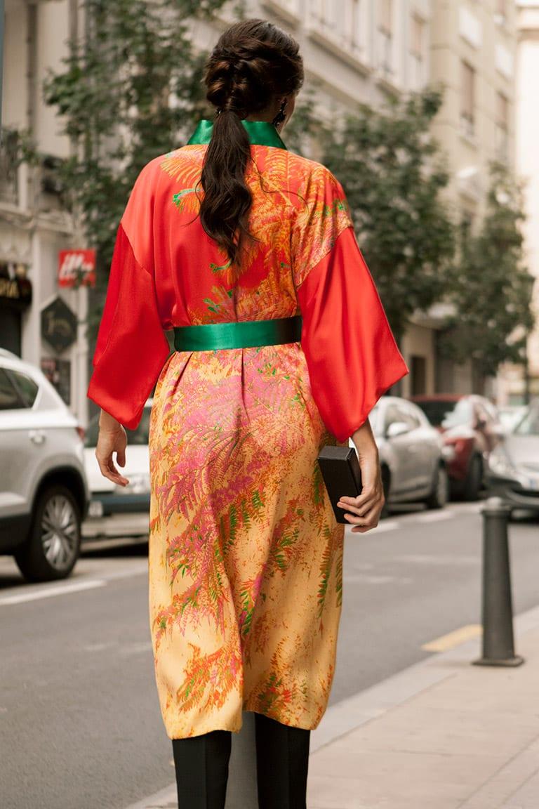 kimonos para bodas y kimonos largos mujer estilo vestido