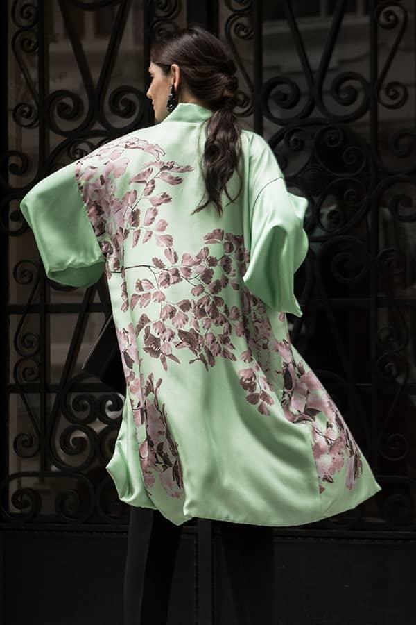 Kimono para bodas y vestido kimono largo mujer